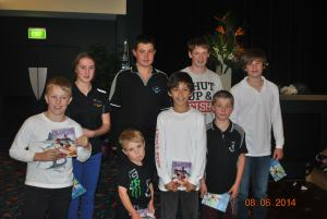 All The Junior and Smallfry Day SKED prize winners